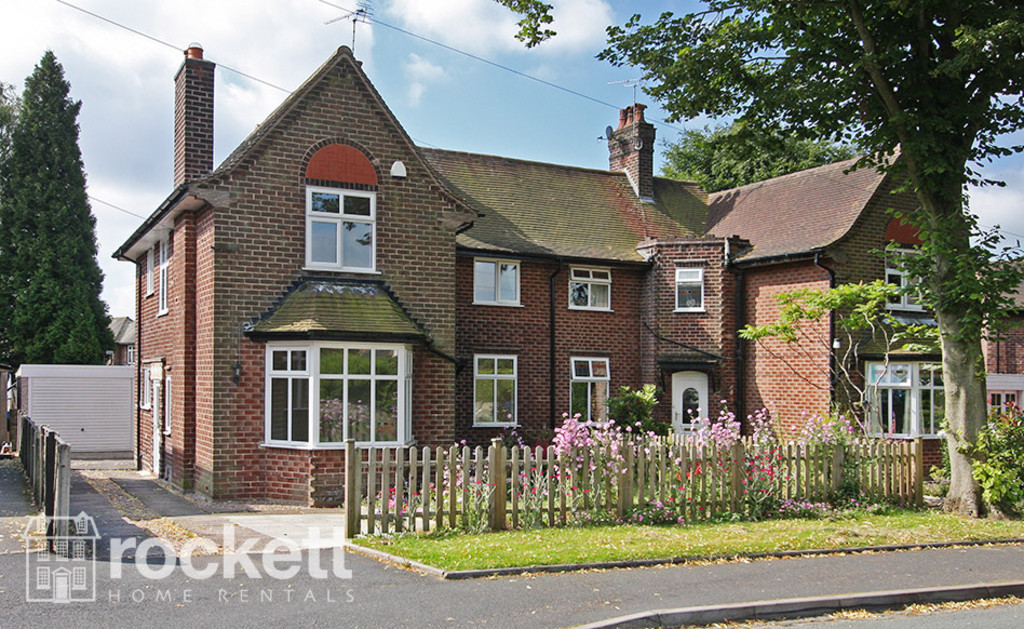 3 bed house to rent in Kingsway West, The Westlands, Newcastle Under Lyme - Property Image 1