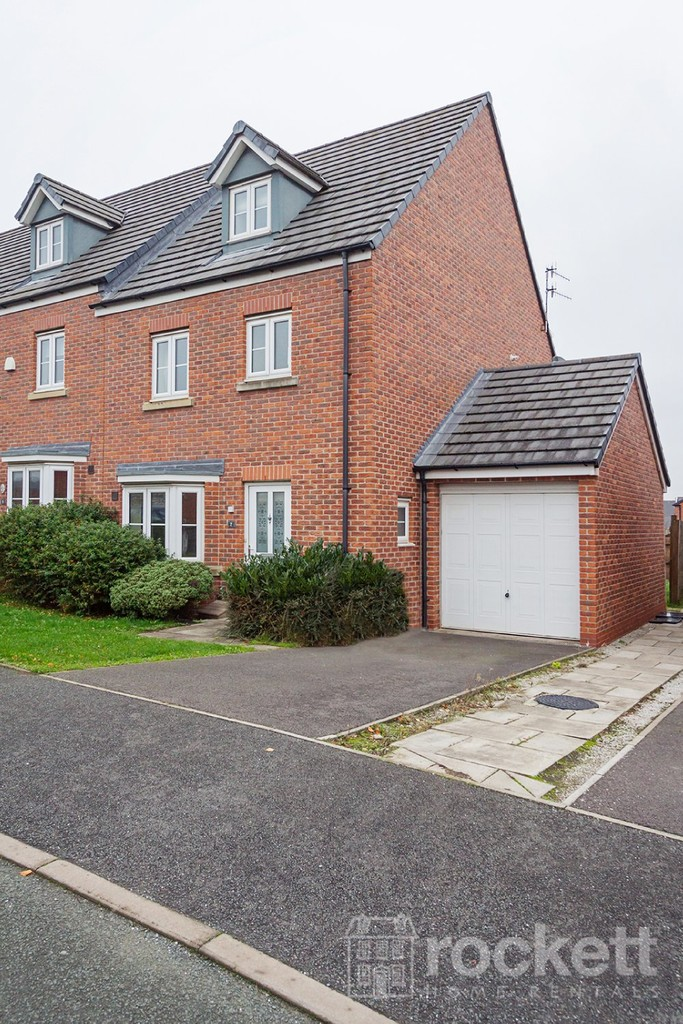 4 bed house to rent in Reedmace Walk, Newcastle Under Lyme  - Property Image 1