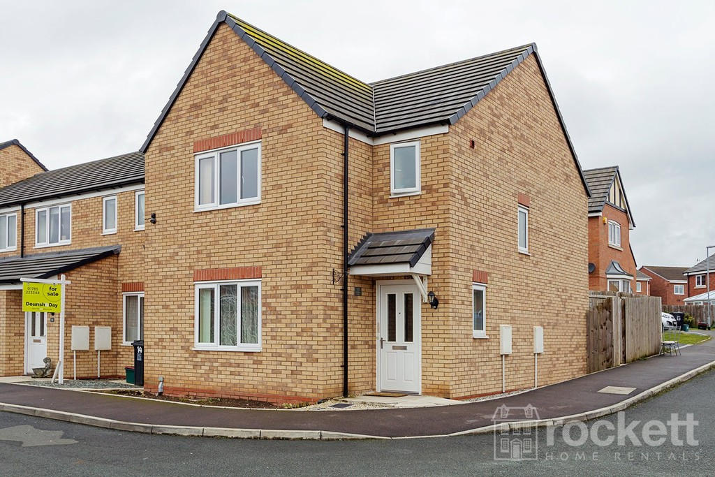 3 Bed House To Rent In Greylag Gate Newcastle Under Lyme