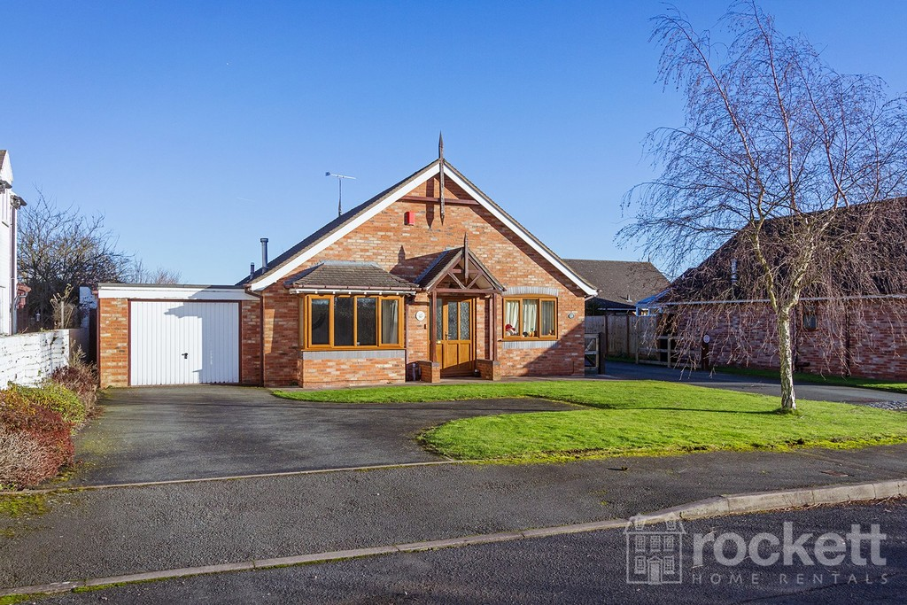 2 bed bungalow to rent in Primrose Hill, Hanford, Stoke-on-Trent