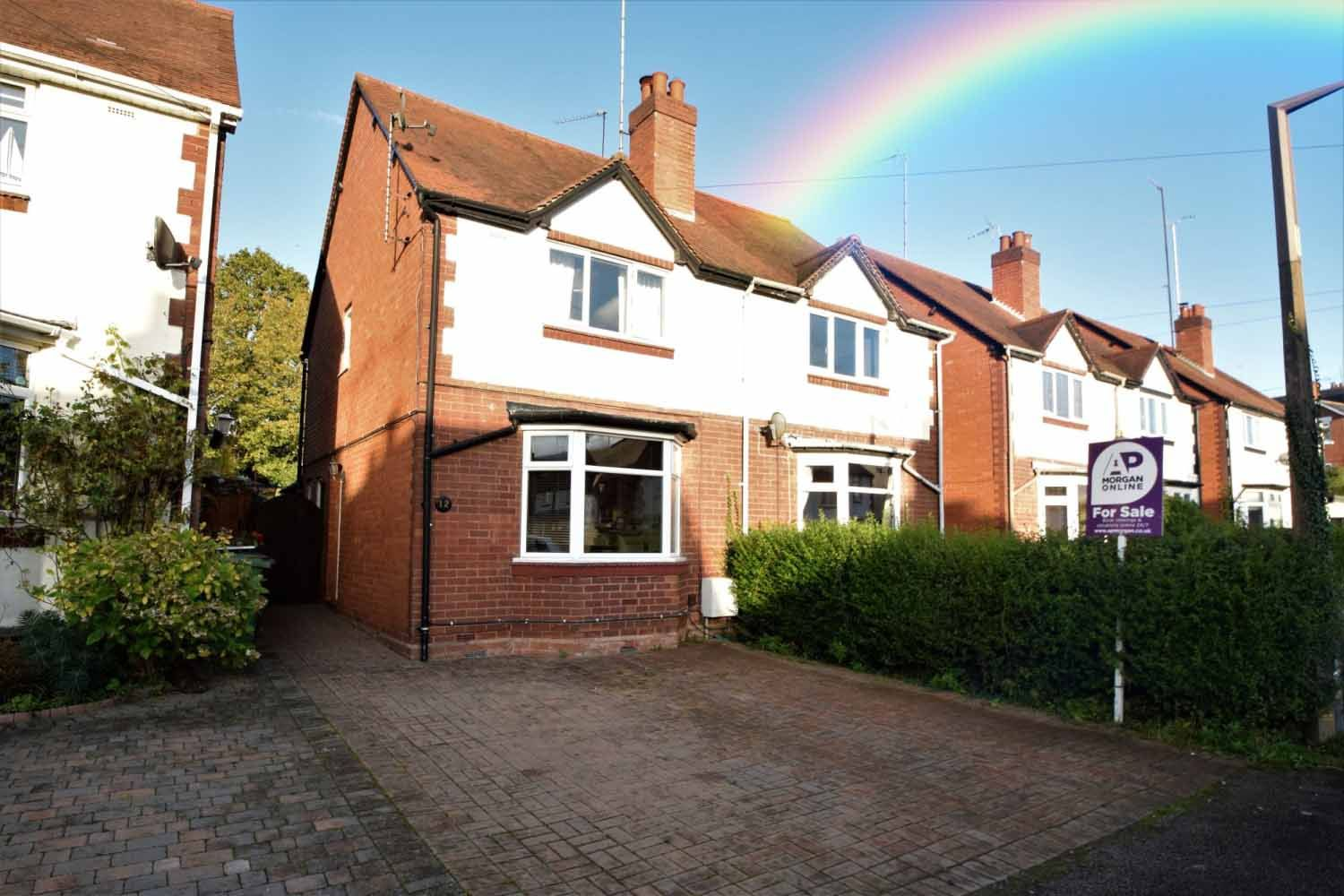 2 bed semi-detached for sale in The Meadway, Headless Cross  - Property Image 1