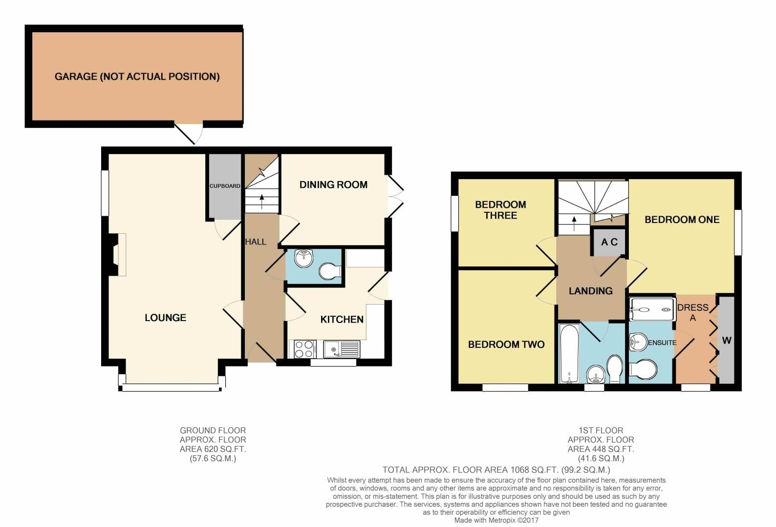 3 bed house for sale in Wheatcroft Close - Property Floorplan