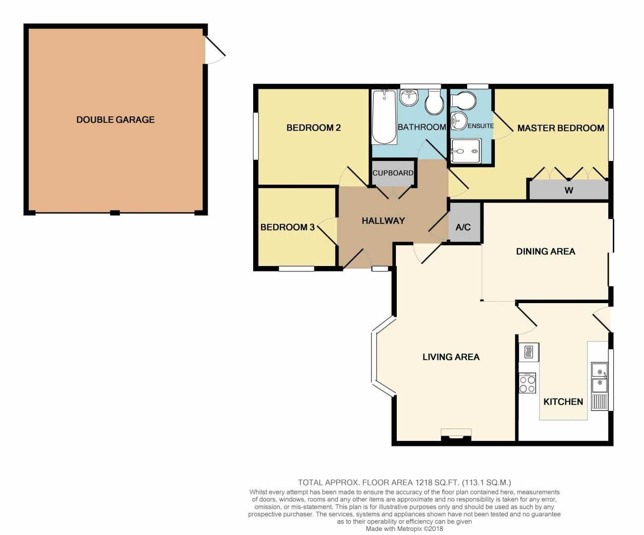 3 bed bungalow for sale in Norbury Close - Property Floorplan