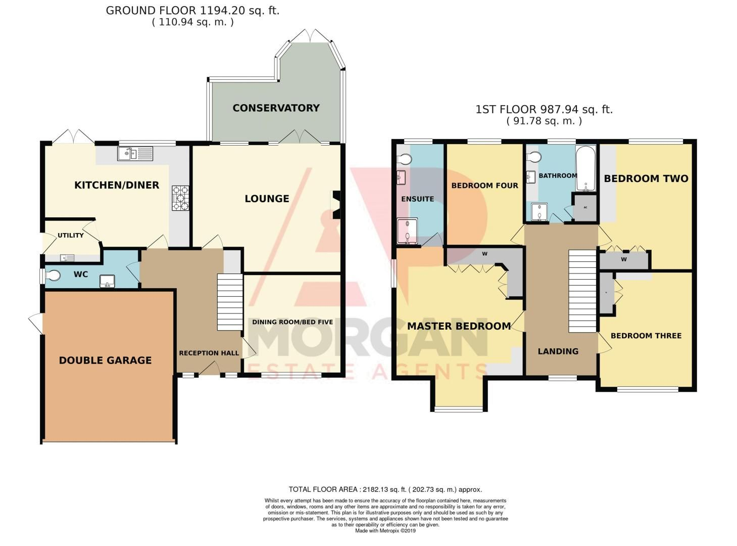 4 bed house for sale in Stuarts Green - Property Floorplan