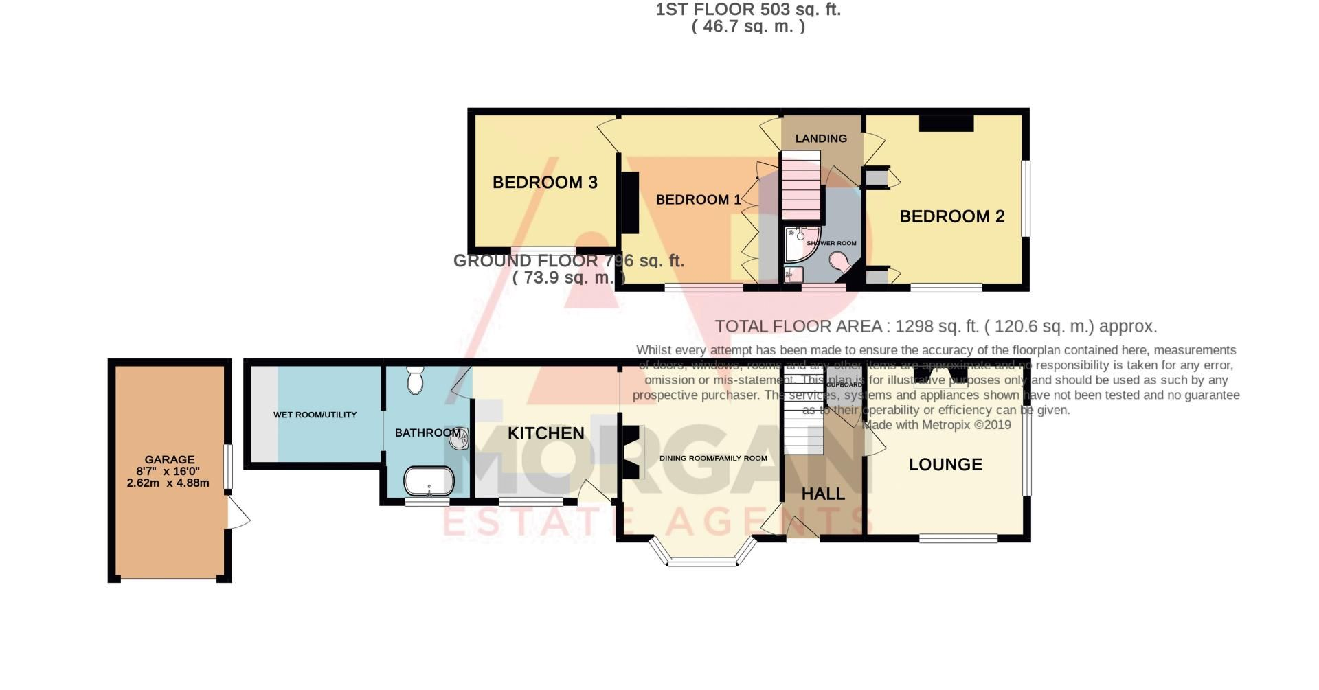 2 bed house for sale in Mace Street - Property Floorplan