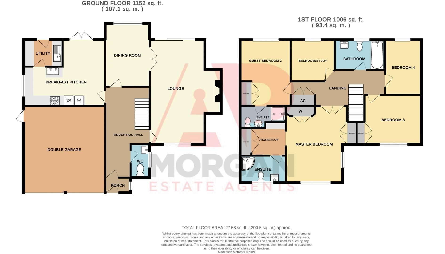 5 bed house for sale in Purshall Close - Property Floorplan