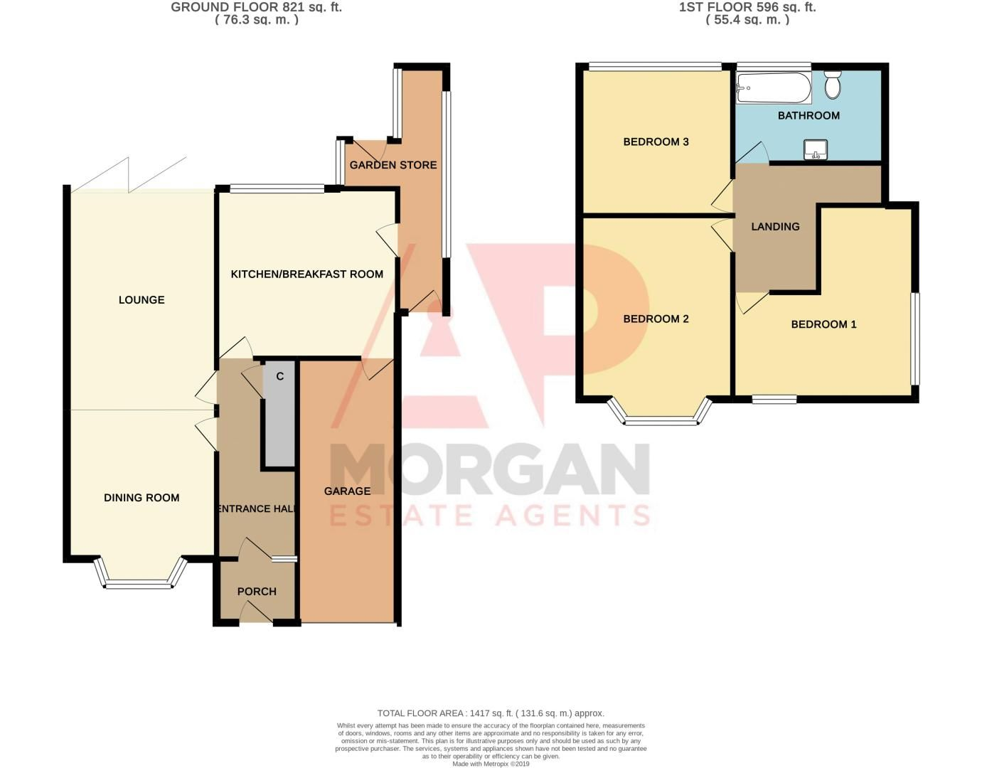3 bed house for sale in Dunstall Road - Property Floorplan