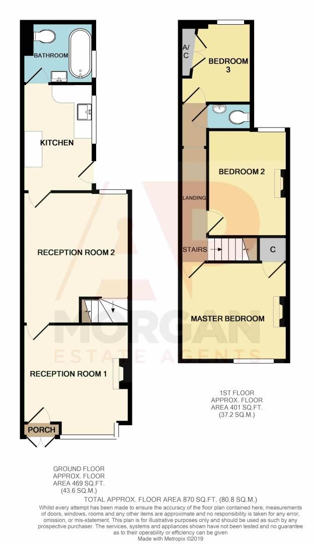 3 bed house for sale in Stoke Road - Property Floorplan