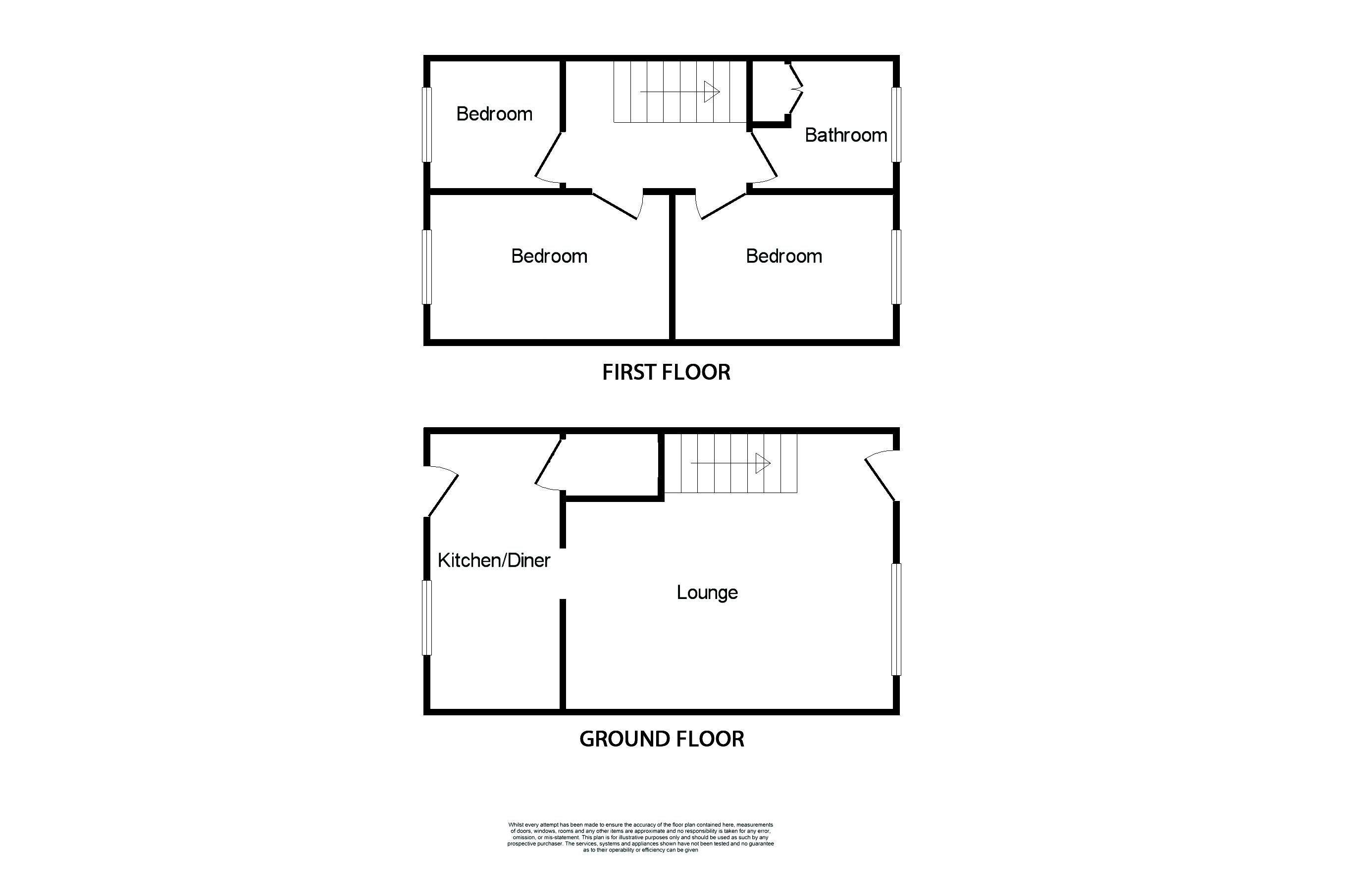 3 bed House for sale in Avenue Road - Property Floorplan