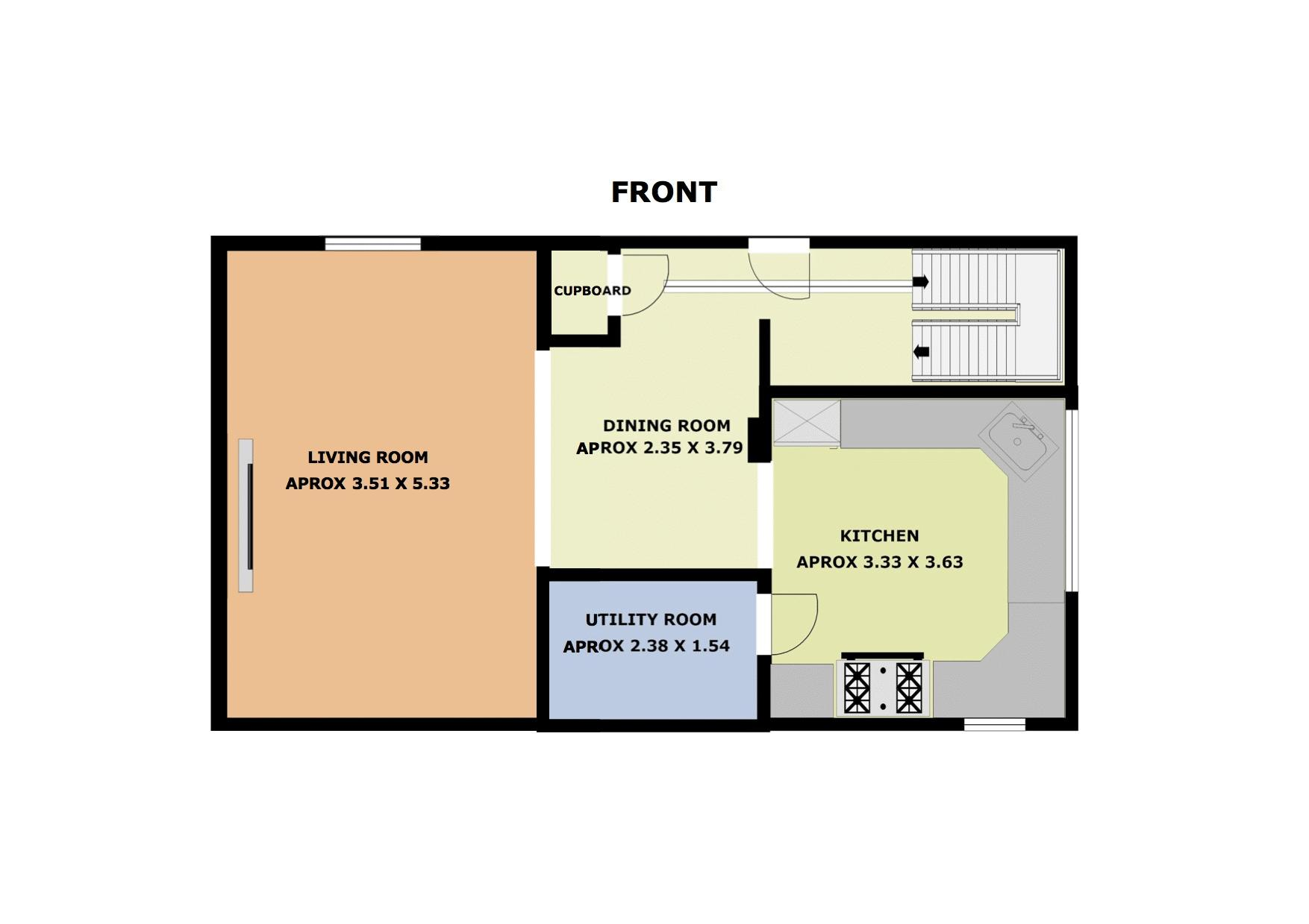 3 bed House for sale in Fitzwilliam Street - Property Floorplan