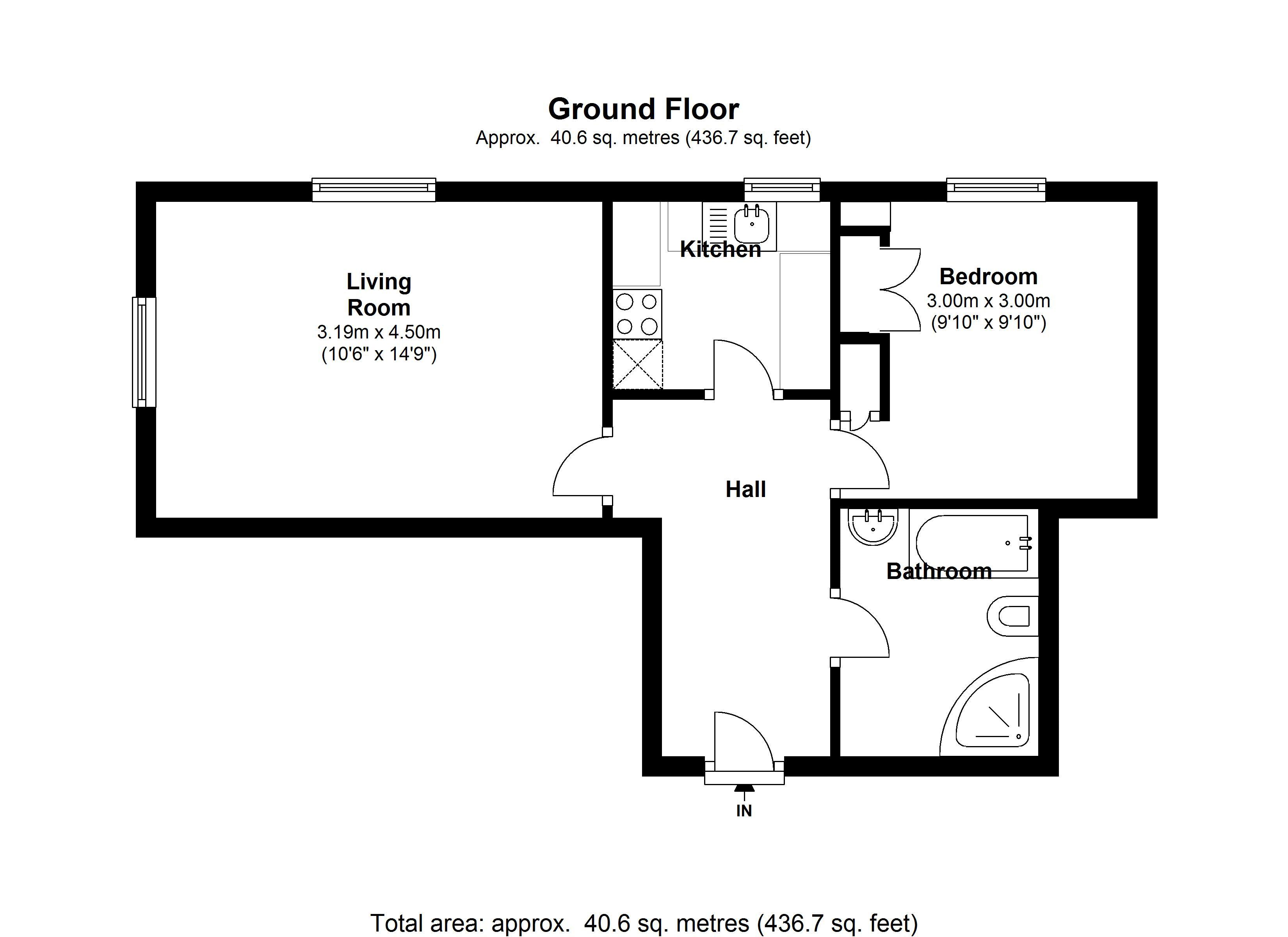 1 bed Flat to rent in 28/32 Grafton Road - Property EPC