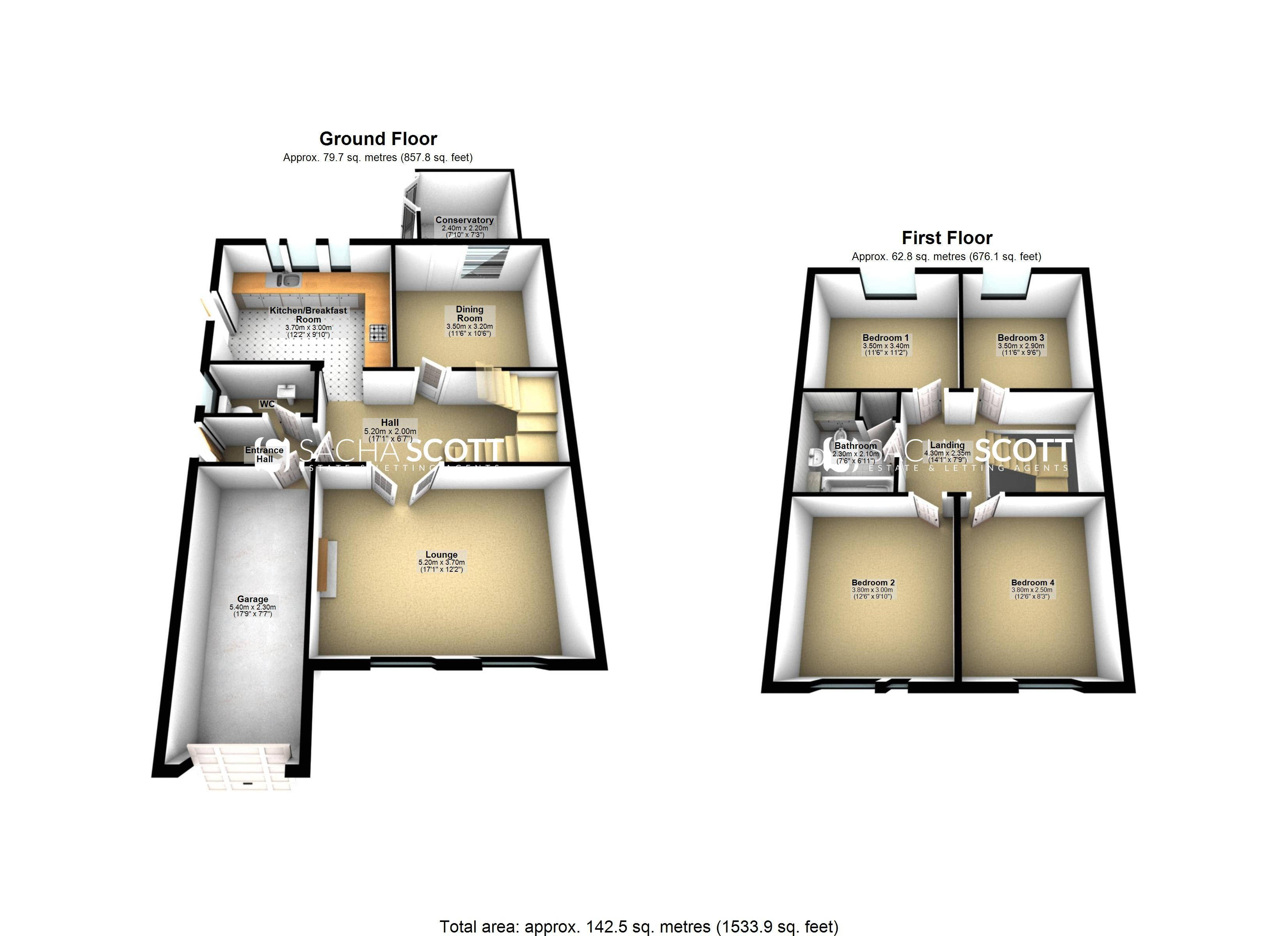 4 bed House for sale in Nork Way - Property EPC