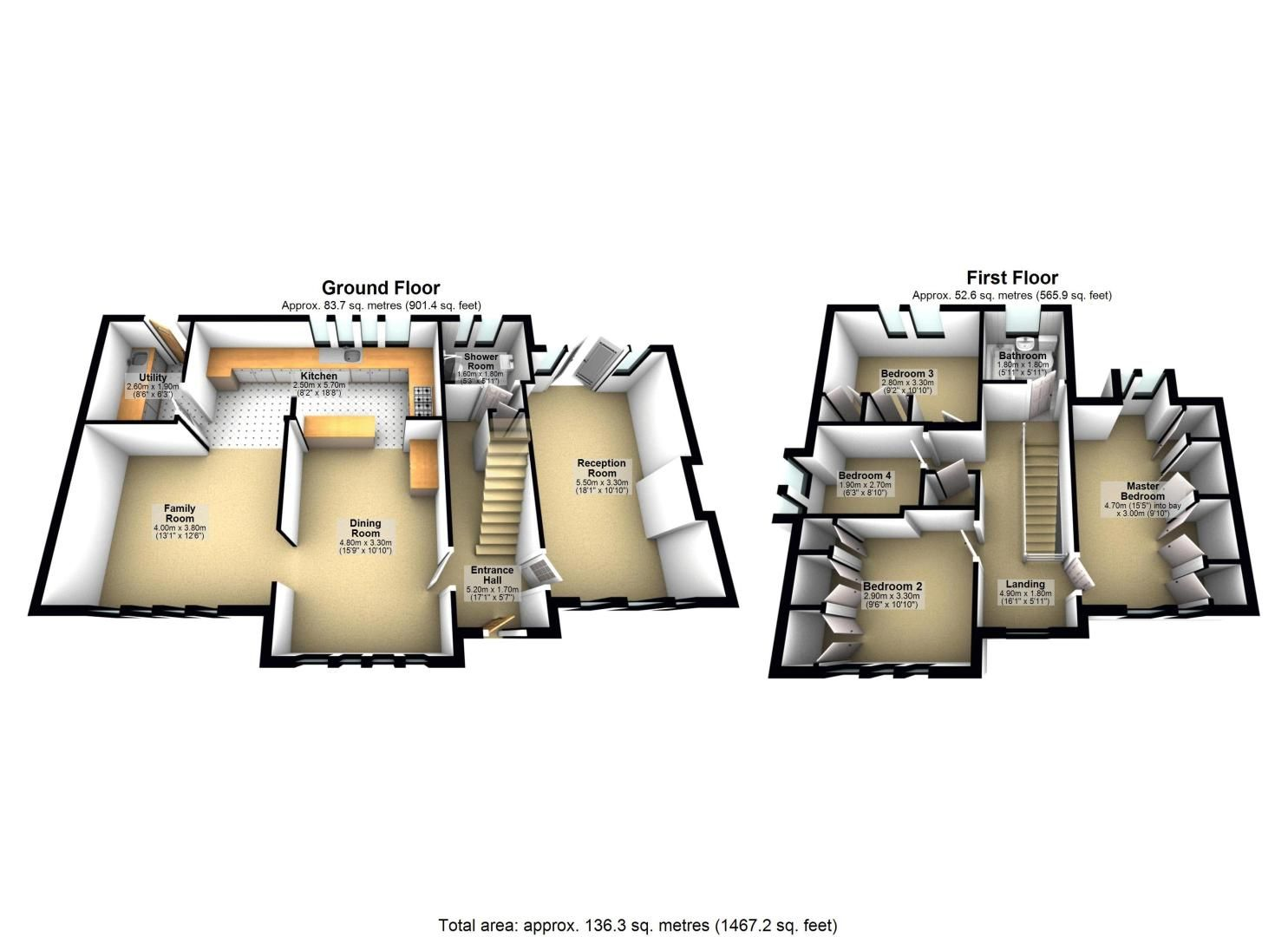 4 bed House to rent in Lower Hill Road - Property EPC