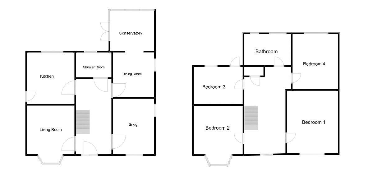 4 bed house for sale in Wraxhill Road, Yeovil - Property Floorplan
