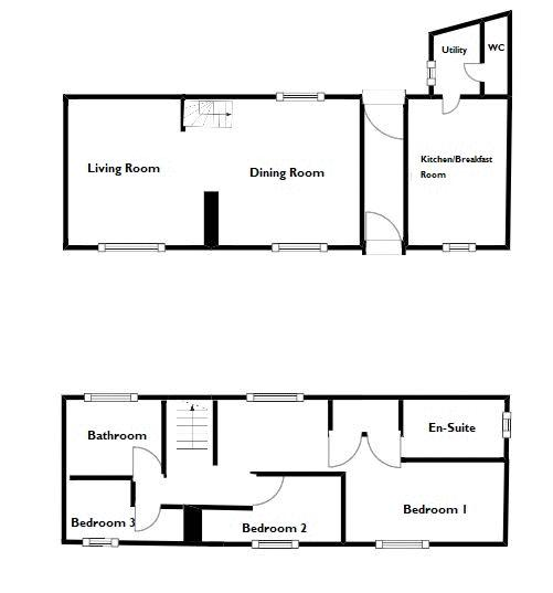 3 bed cottage for sale in West Coker, Yeovil - Property Floorplan