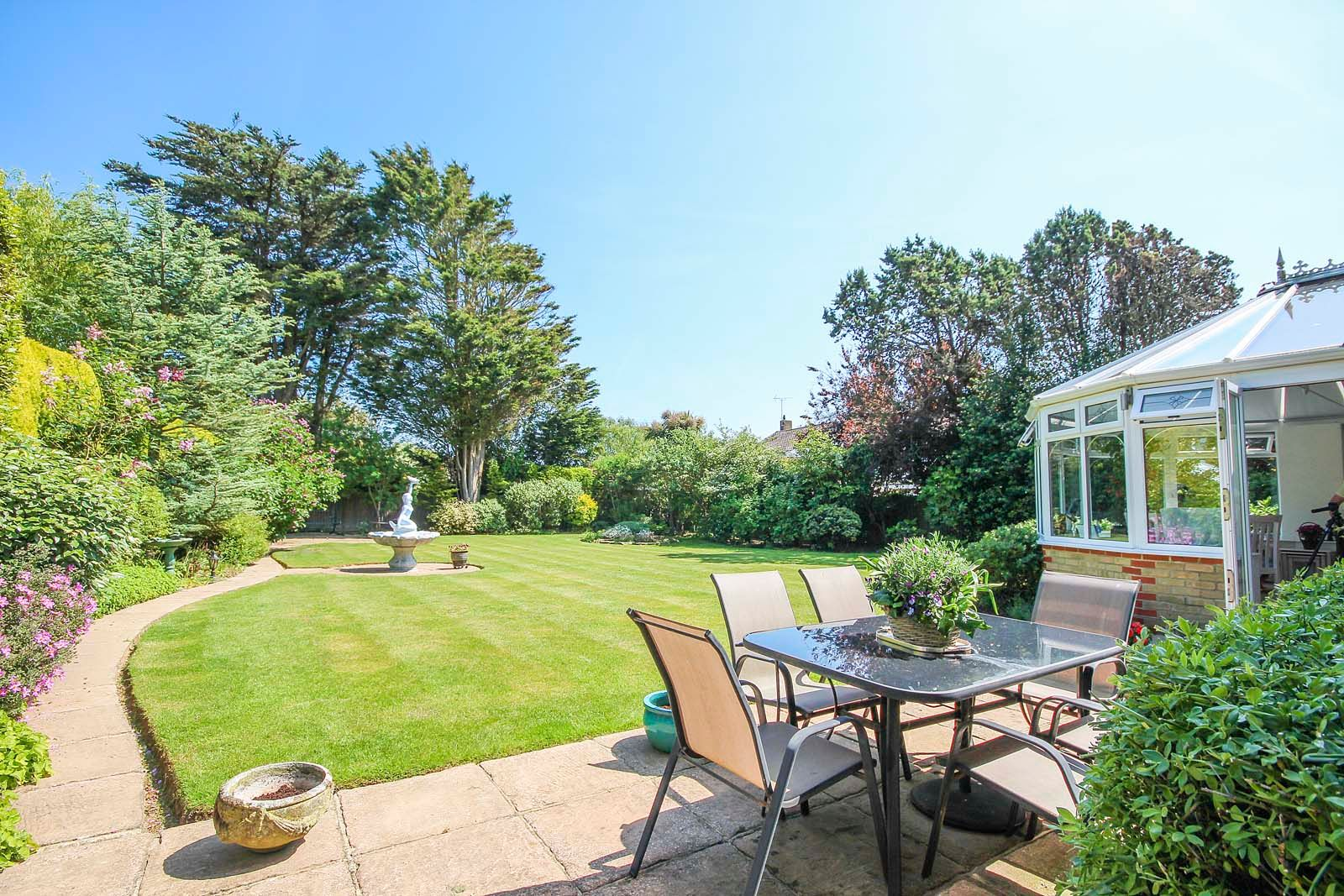 5 bed House for sale in The Willowhayne, East Preston - Rear garden (Property Image 8)