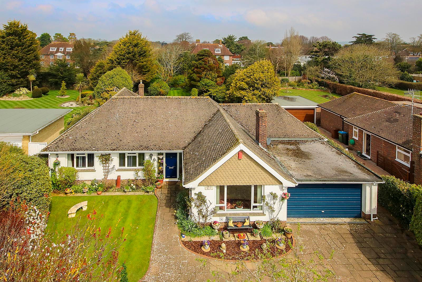 3 bed Bungalow for sale in East Preston - Elevated front (Property Image 0)