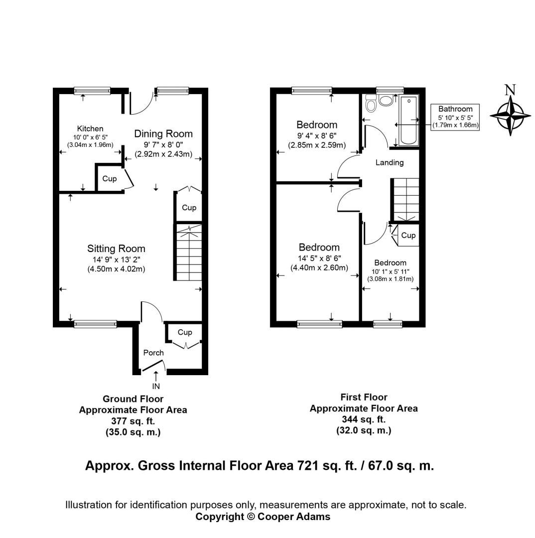 3 bed House for sale in East Preston - Property Floorplan