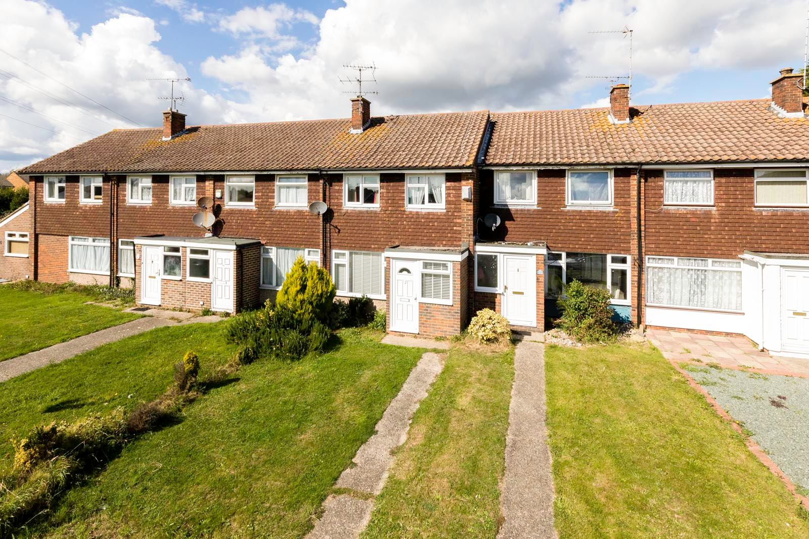 3 bed House for sale in East Preston - Elevated front shot (Property Image 0)