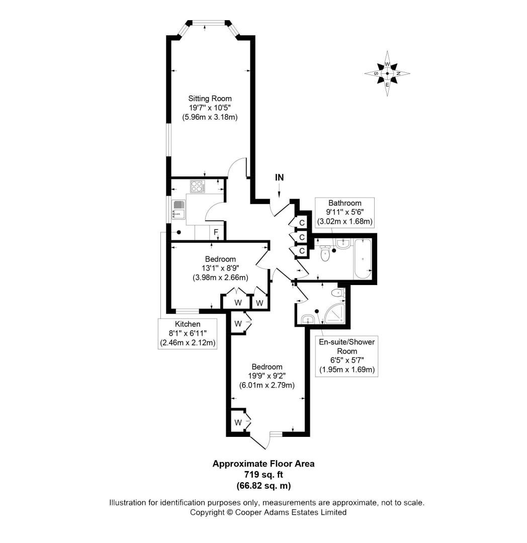 2 bed  to rent in 24 St. Botolphs Road - Property Floorplan