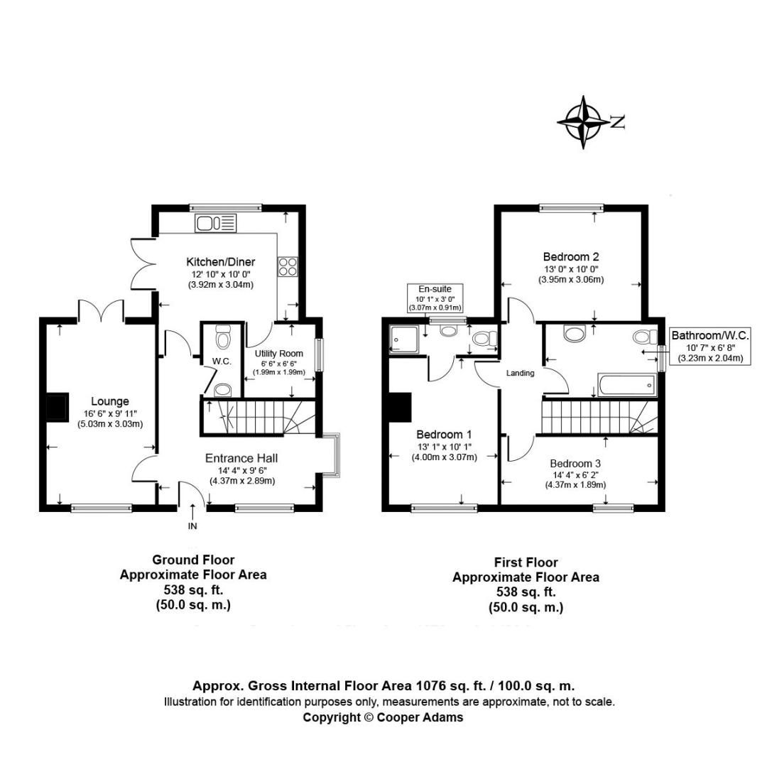 3 bed house for sale in Matrons Cottages COMP NOV 18 - Property Floorplan