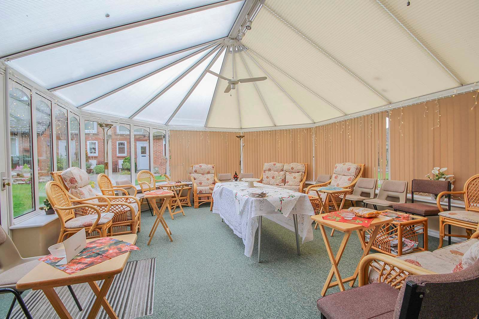 2 bed Apartment for sale in East Preston - Communal conservatory (Property Image 3)