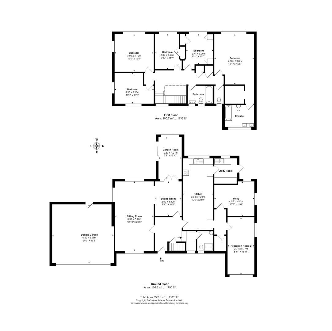5 bed house for sale in Sea Avenue - Property Floorplan