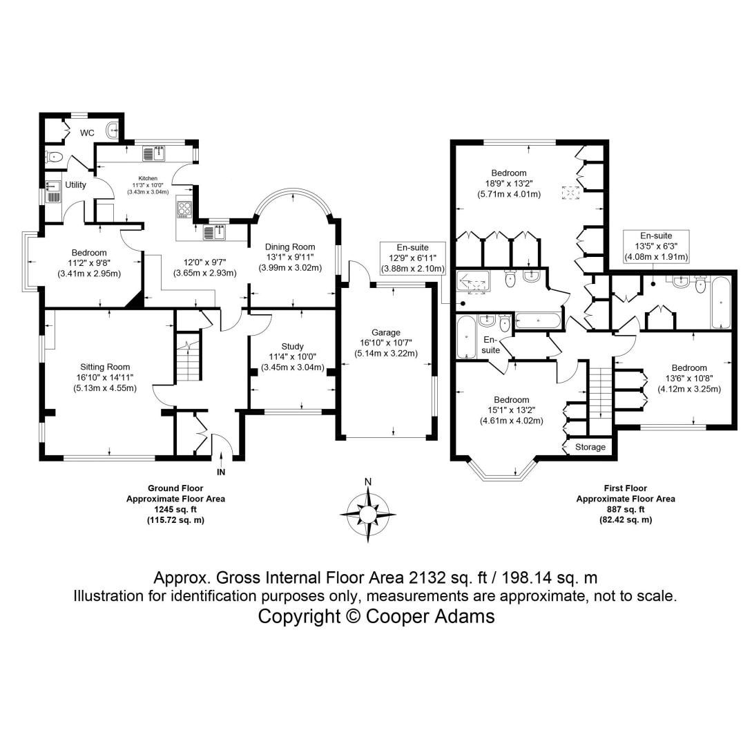4 bed house for sale in Bushby Avenue - Property Floorplan