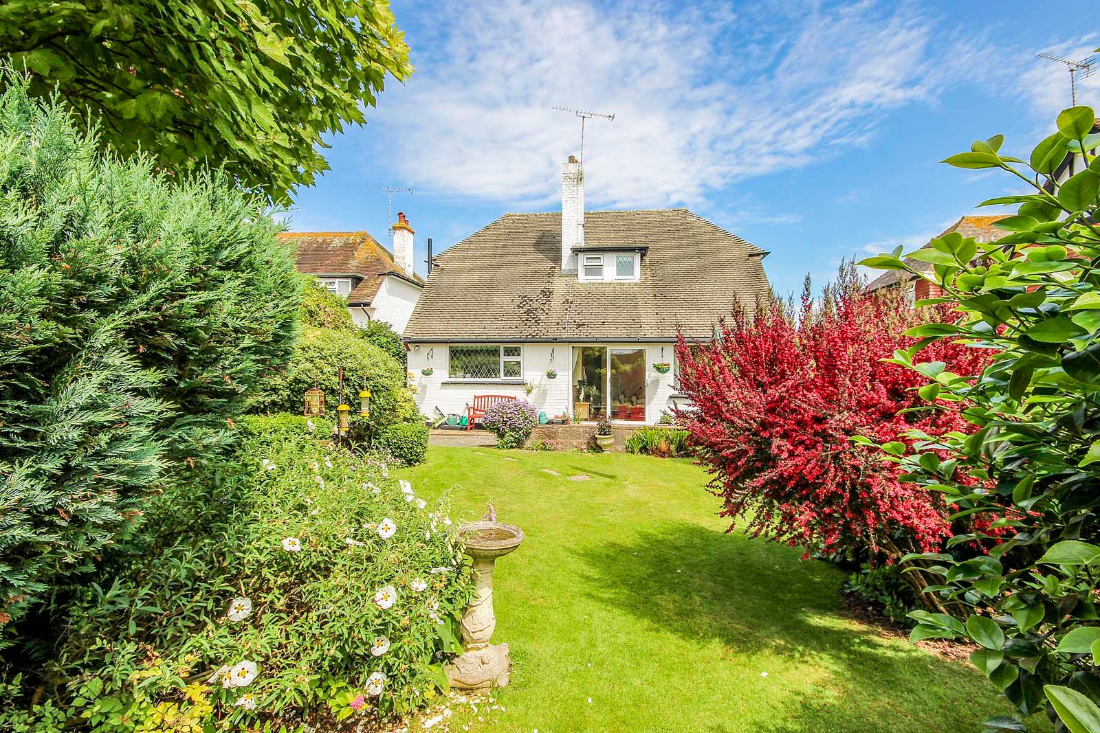 3 bed House for sale in Rustington - Rear shot (Property Image 0)