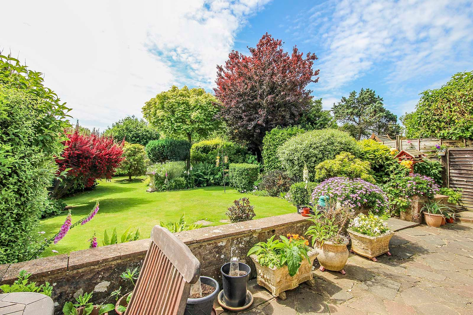 3 bed House for sale in Rustington - Rear garden (Property Image 2)