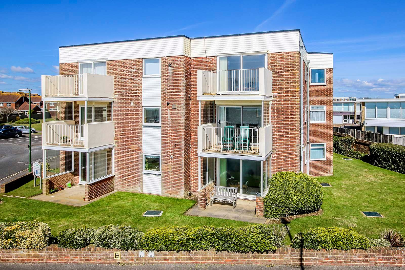 2 bed Apartment for sale in Rustington - Elevated front (Property Image 0)