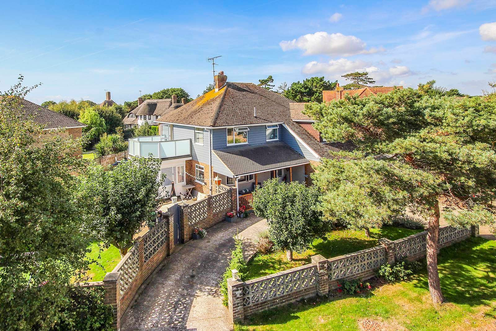 4 bed House for sale in Rustington - Elevated front (Property Image 15)