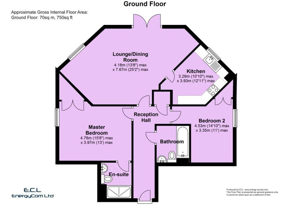 2 bed apartment for sale in Pedmore - Property Floorplan