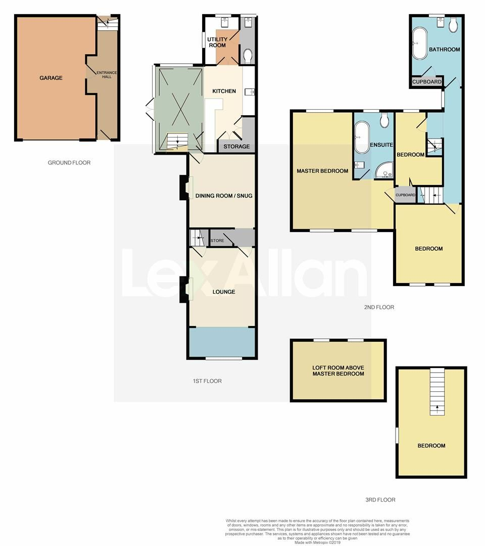 4 bed detached for sale in Swindon - Property Floorplan