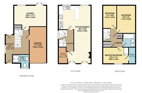 4 bed house for sale in Fennel Close - Property Floorplan