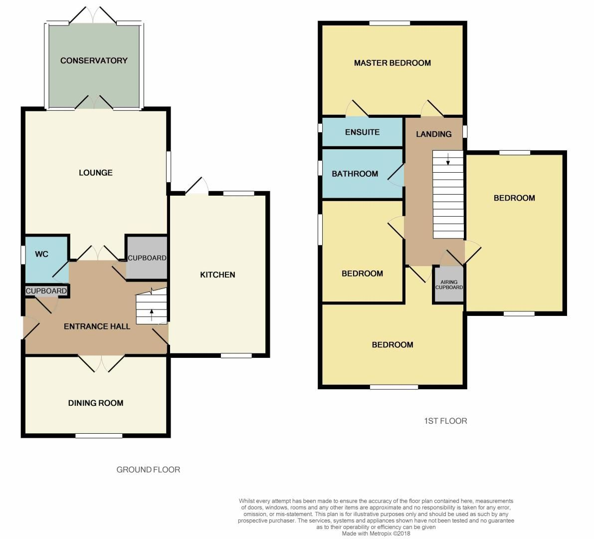 4 bed house for sale in Shackleton Way - Property Floorplan