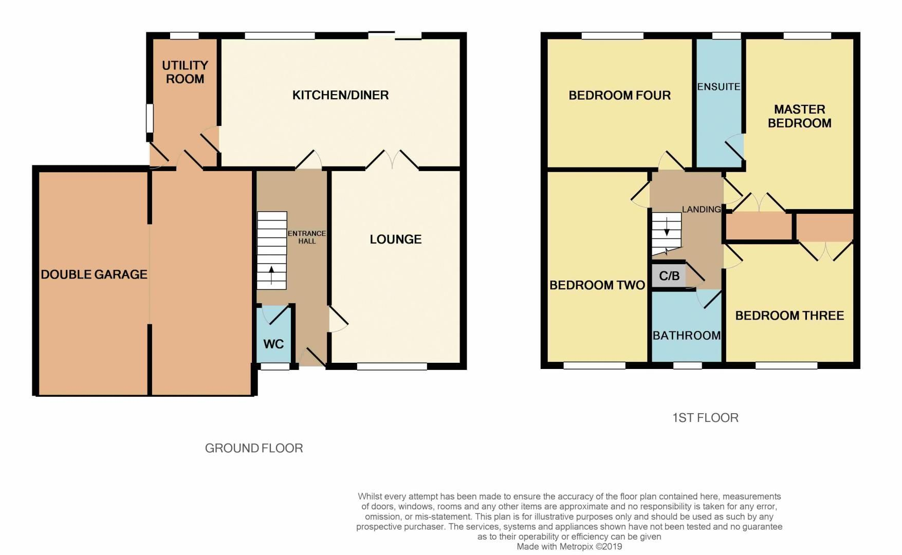 4 bed house for sale in Seathwaite - Property Floorplan