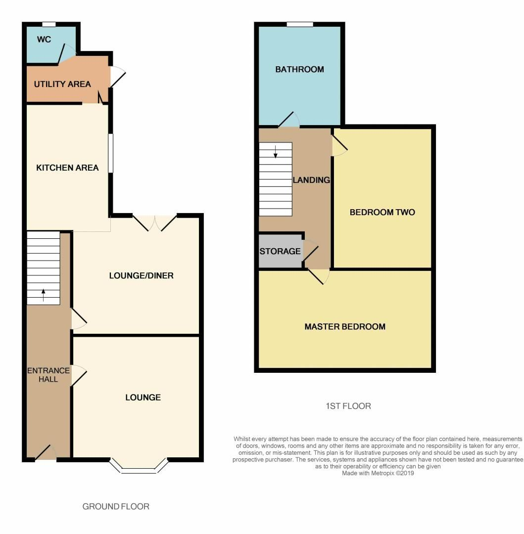 2 bed house for sale in West End - Property Floorplan