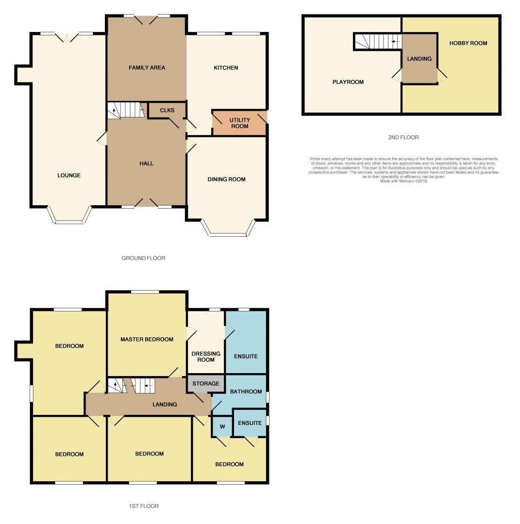 7 bed house for sale in Shackleton Way - Property Floorplan