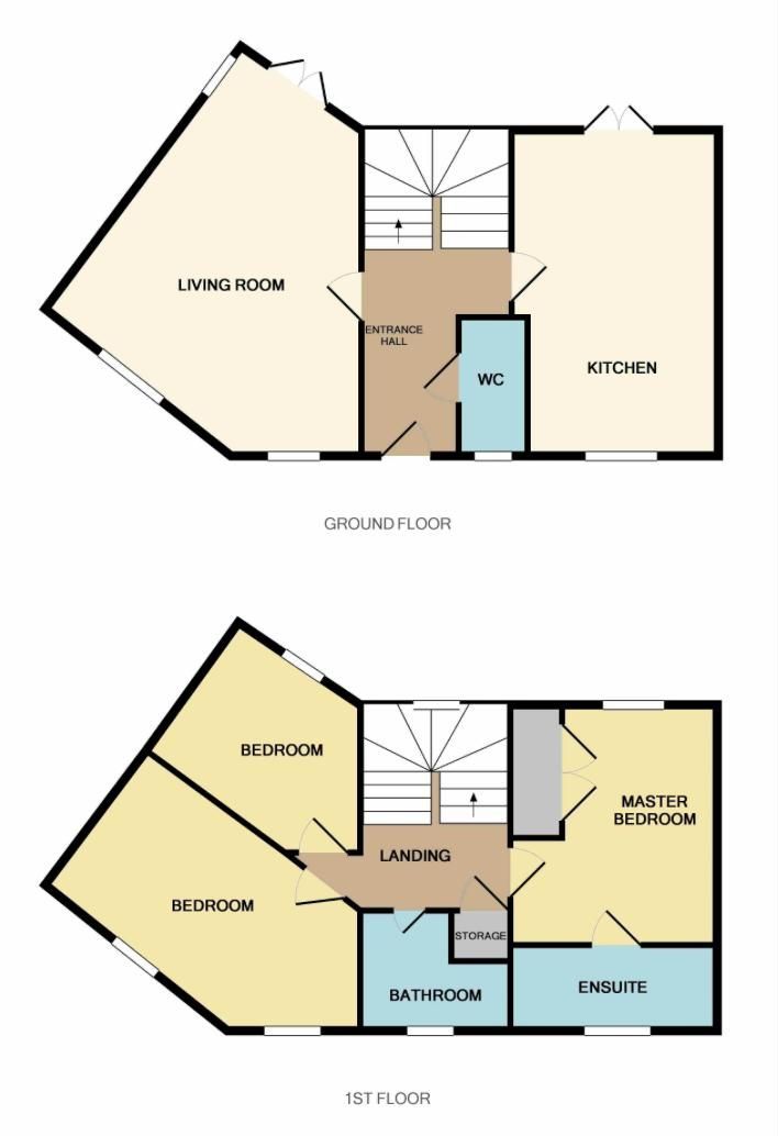 3 bed house to rent in Hercules Way - Property Floorplan