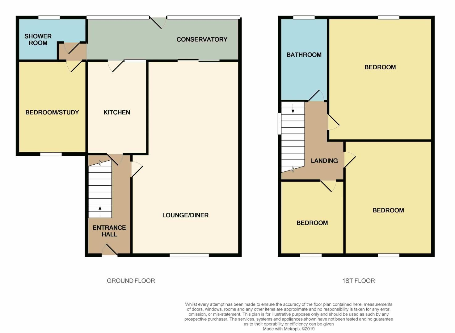 3 bed  for sale in Highfield Walk - Property Floorplan