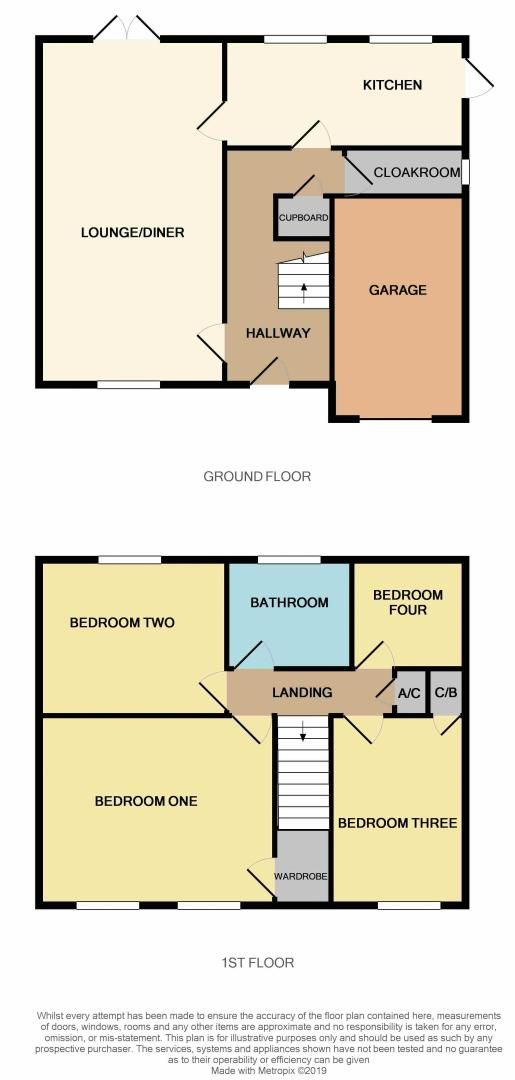 4 bed house for sale in Dunsberry - Property Floorplan