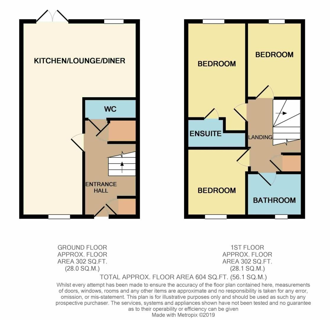 3 bed house to rent in Tempestes Way - Property Floorplan
