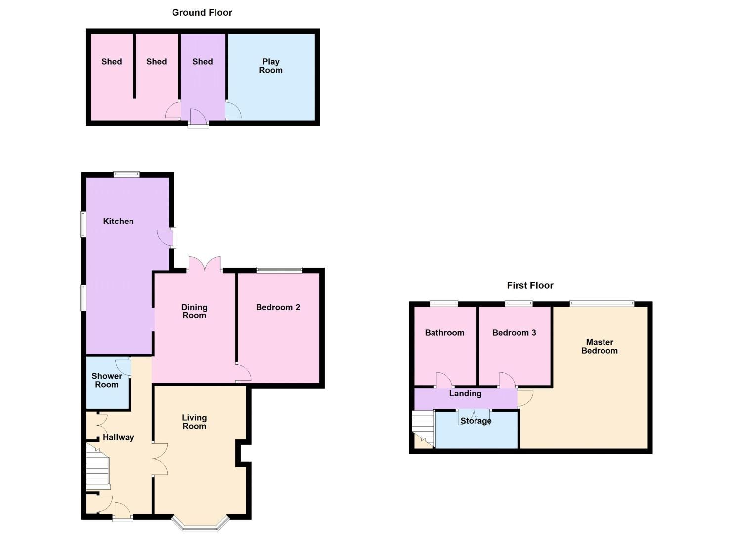 3 bed  for sale in Topham Crescent - Property Floorplan